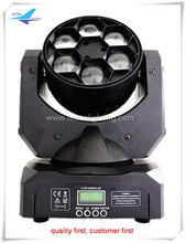 RGBW LED Moving Head Mini 6X15W Bee-Eyes Stage Beam Light LED Moving Head