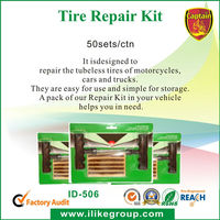 Hot Sale Tubeless Tire Repair Kit for Car Motorcycle