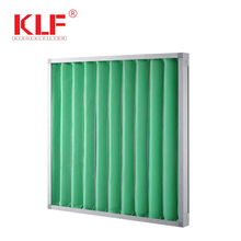 ventilation fan fresh air pleated fiber panel filter for air conditioner
