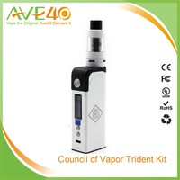 Newest product Trident 60W TC Box Mod Adjustable Vape Mods Box Mod 60W Trident 60W kit