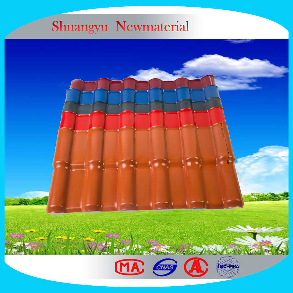 Environment Friendly Coated ASA APVC roof tile/Color ASA coated roofing sheet