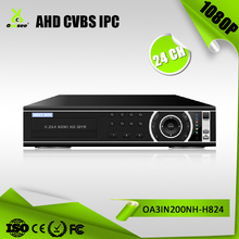8 SATA 6TB HDD 24ch 1080N AHD DVR APP Cloud china dvr manufacturer