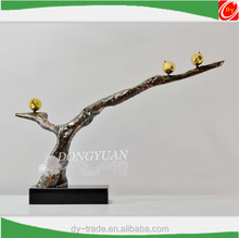 Small Cast Metal Bird, Stainless Steel Wall Art Sculpture for Constuction decoration