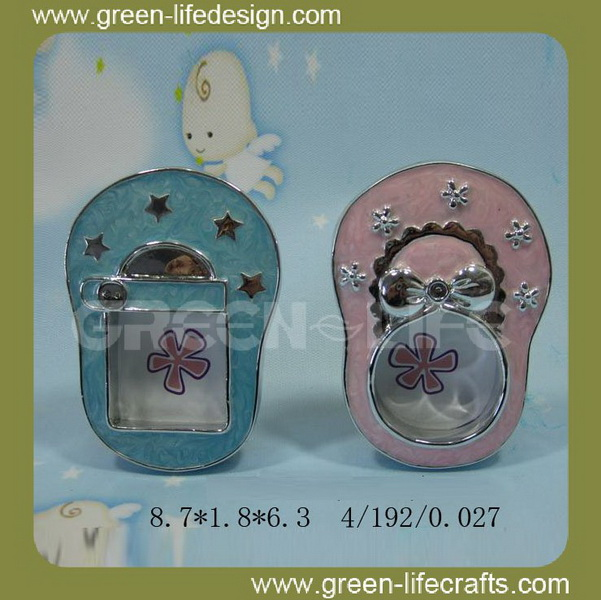 Shoes resin gift photo frame baby boy girl