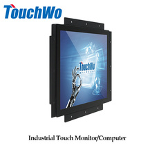 Embedded 15 inch touch screen industrial panel pc with motherboard