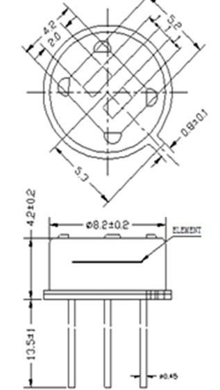 pir sensor circuit digital pir sensor am312   am412  am612 for long detect distance  view pir