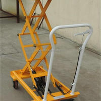 150kg Hydraulic Lifting Table Cart