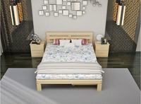 Import Material Pine Wooden Bed School