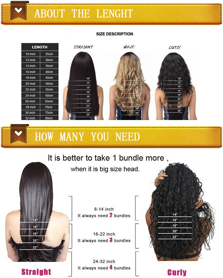 Sew in Human Hair Extensions Natural Virgin Brazilian Hair