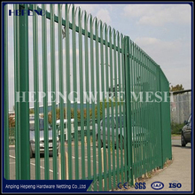 China high security palisade fence / euro fence / steel palisade Fence