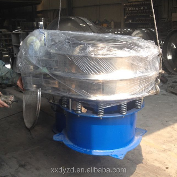 Acclaimed customer satisfaction of the vibrating sifter