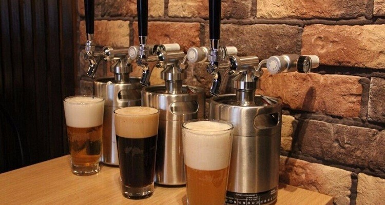 CE approved the hot style draft beer tap
