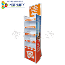 Retail Store Supermarket Cardboard Display Rack for Promotional sale