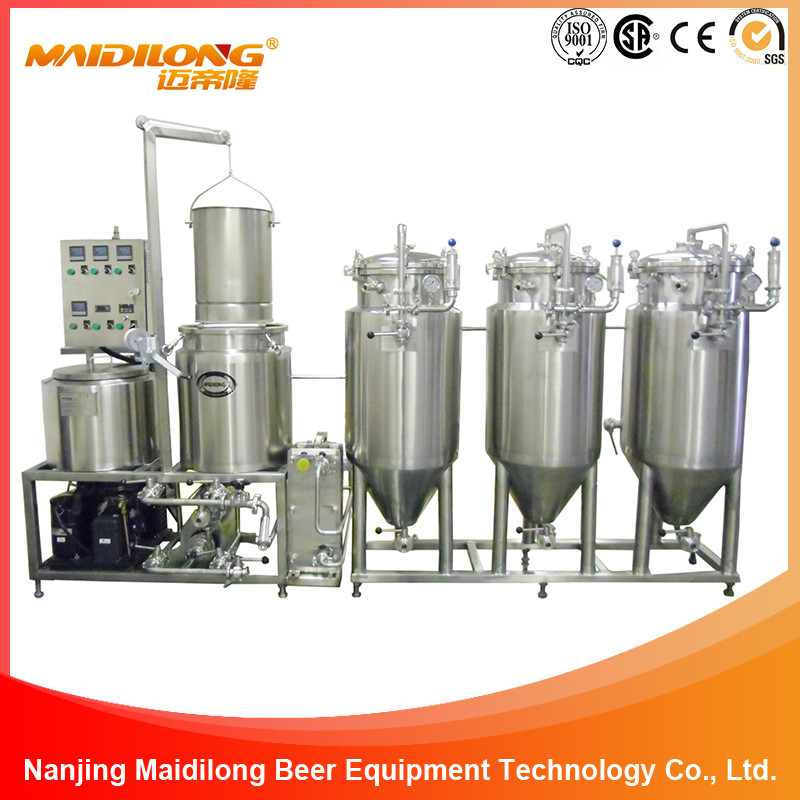100L New Micro Stainless Steel Home Beer Brewing Equipment System