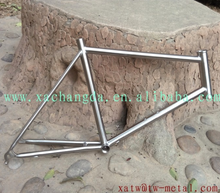XACD made titanium Minivelo bike frame Ti minivelo bicycle frames minivelo bike frame
