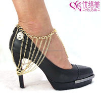 Foot Chain High Heel Anklet Chain Barefoot Chain Jewelry For Women HSC-AA17