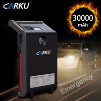 Car accessories 30000mAh phone battery charger portable 12v 24v jump starter