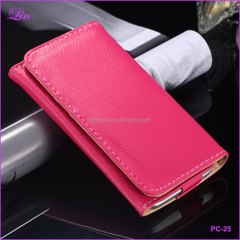 Case For iPhone 6 6s 5s SE Samsung S3 S5 S6 S7 Universal 5.1 Leather Wallet Purse