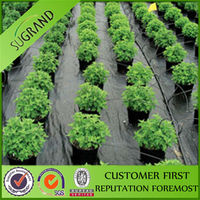 garden weed control mat plastic mesh 100% pp pure agricultural ground cloth