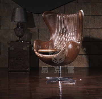 Spitfire aluminum aviator Egg Chair K616