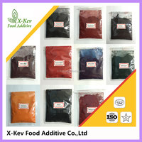 Water soluble powder halal edible pigment food colors food colour
