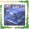 41cm x 22cm x 21.5cm Plastic Cover For Gardening Growing Tunnels