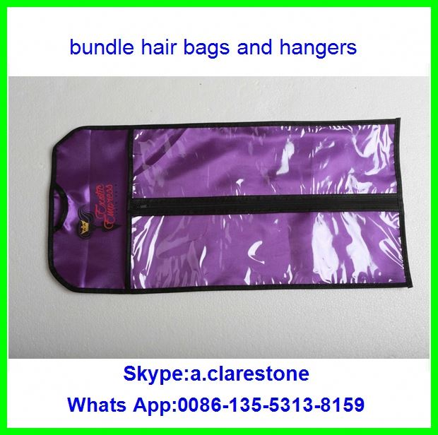2017 fastion horse hair strip brushpackage bag and hanger