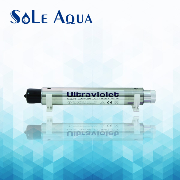 TUV-2A UV light for RO purifier system stainless steel UV water sterilizer