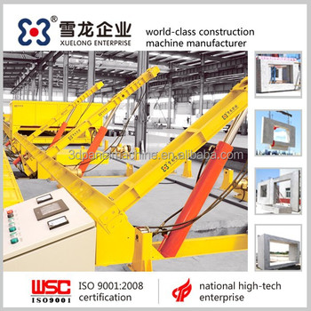 Prefabricated Building concrete elements machine , precast concrete elements machine / production line