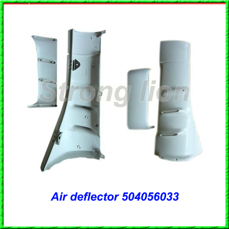 Truck body parts auto air deflector for iveco NO 504056033 RH 504056034 LH in China