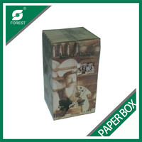 CARDBOARD PRINTING WINE PACKAGING BOX STRONG PAPER BOX FOR WINE PACKING WHOLESALE