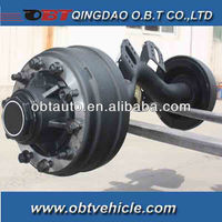 11.5t payload center drop trailer axle
