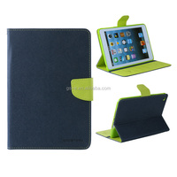 Fashion Mercury Goospery Leather Fancy Diary Wallet Flip Case For iPad mini