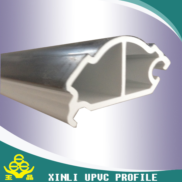 white pvc profile window and door upvc raw material