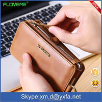 2016 Newest mobile phone wallet flip leather case for IPhone 6 ,for iphone 6 plus case,for iphone 6s wallet case