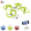 Hot! Colorful Folding RC Flying Ball Drone Toy with Camera WiFi Quadcopter for Beginner Kids RC Helicopter 4 Channel 3D Flips