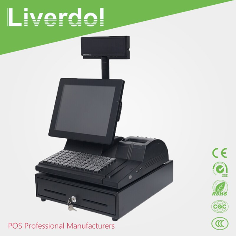 POS manufacturer cheap touch screen retail pos system , touch pos Terminal