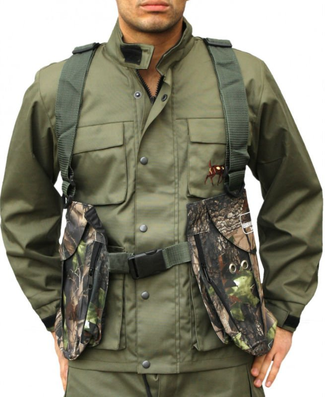 MEN BIRDS HUNTING SHOOTING VEST COAT