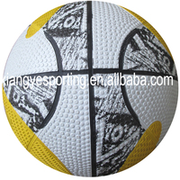 natural size 7 rubber street basketball