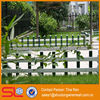 2013 newest artificial design decorative fence for the garden