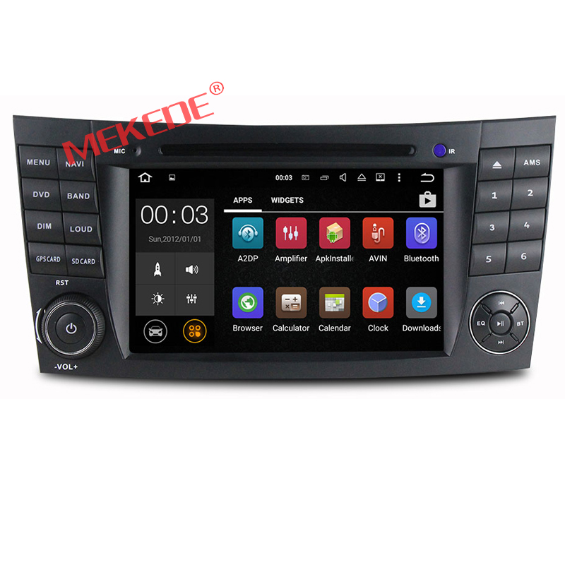 Factory hot selling Android 7.1 for Mercedes B-enz W211 Car DVD Player with GPS car radio