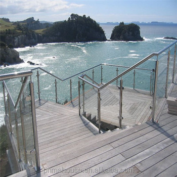 New design for stainless steel railings price, stainless steel baluster railing,cheap deck