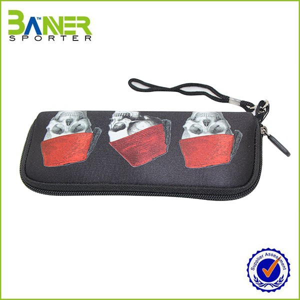 FDA Approved Neoprene drawstring mini coin purse