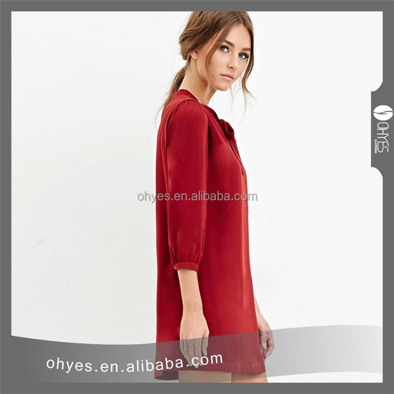 Hot selling pictures of casual dress with CE certificate