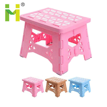 Plastic kid stool/kids plastic stool/plastic study chair folding chair for children