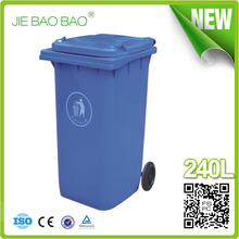 JIE BAOBAO!FACTORY MADE OPEN TOP RED UNBREAKABLE PLASTIC INDUSTRIAL WASTE CONTAINERS