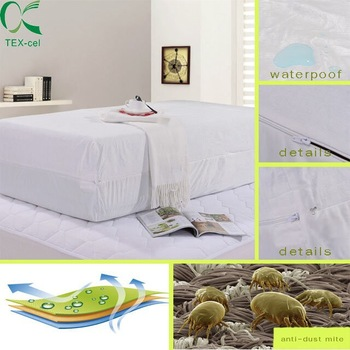 terry hotseling anti-mite waterproof mattress cover