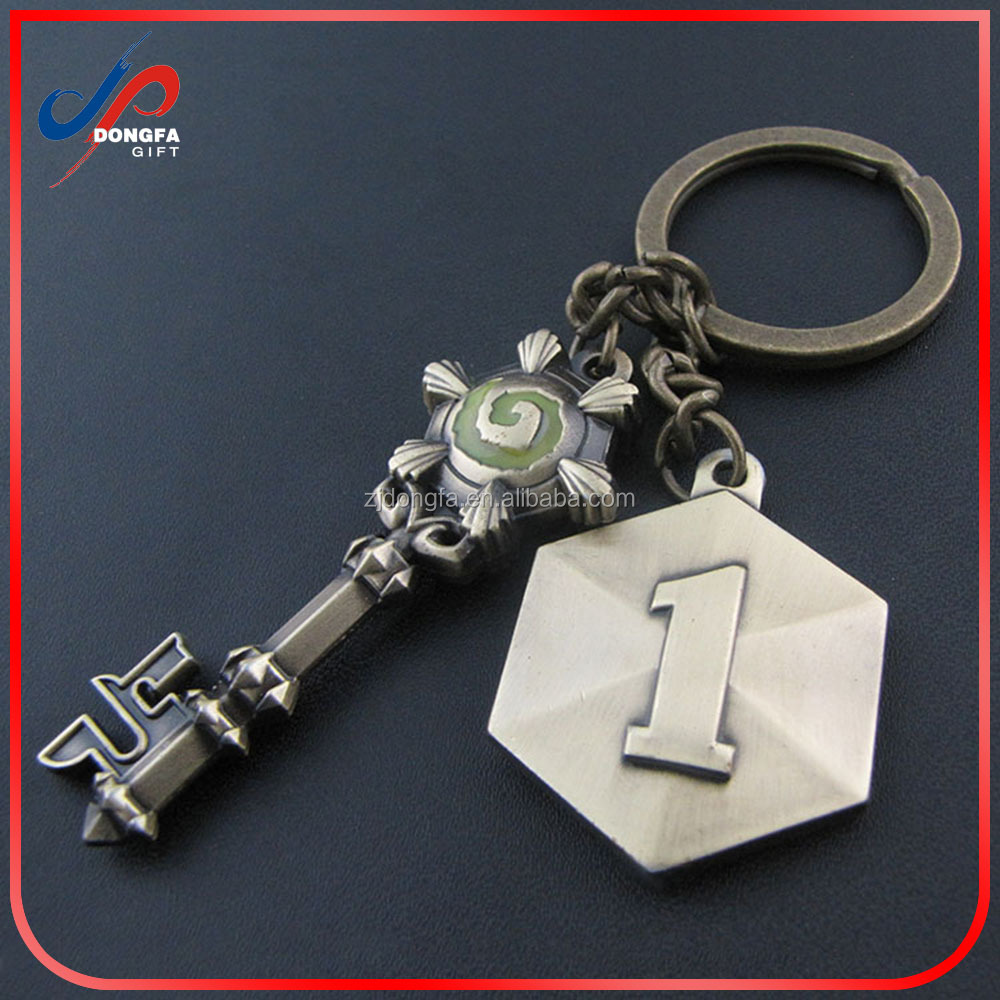 Gifts Heroes Of The Storm Hearthstone Key World Of Warcraft Hearthstone Keychain Twelve Wins Keyring Hearthstone