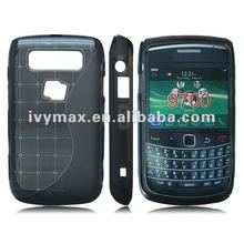 Grey S Shape TPU Gel Case for Blackberry Bold 9700 New