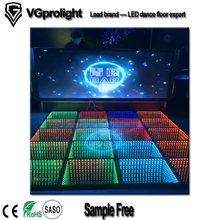 Source manufacturer 3d infinity abyss luminous led dance floor
